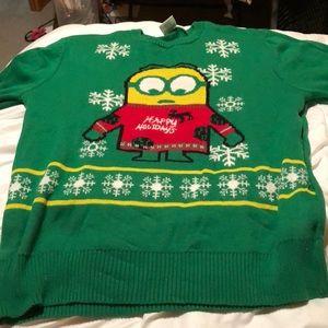 sweaters minion christmas sweater - Minion Christmas Sweater